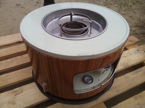 ヤフオクで400円で落札したストーブを使ってみた&塗装してみた